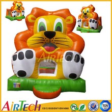 hot sale cheap regular jumoing tiger inflatable bouncer for entertainment