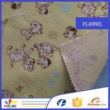 new design 100% cotton small dog print fleece fabric