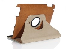 360 Rotatable leather shock proof tablet case high quality tablet leather case for ipad air