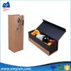 Eco friendly pretty rigid wine cardboard beer bottle box