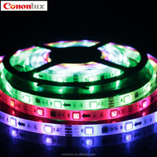 2015 new Flexible LED strip light /LED channel light 12V with LED SMD 5050 for display cases
