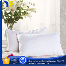 bedding luxury U-Shape air bead down feather pillow and cushion