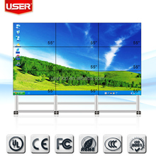 New arrival KTV background 2 x 2 lcd video wall 1920*1080 with free controller