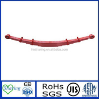 colourful stainless steel leaf spring for dump truck