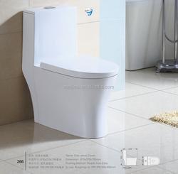 New design bathroom Ceramic One Piece Toilet
