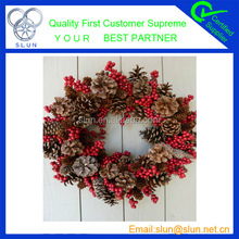 Fashion colorful wreath supplies wholesale 2014