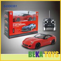 2015 new hot toy make remote control car 1:16 racing car rc car kit