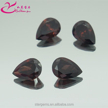 Best selling brown round cut 6*6mm cubic zirconia gemstone in factory price