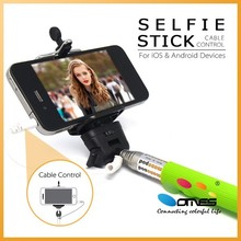 Foldable high quality recommended selfie stick