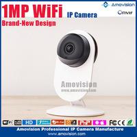 Amovision wifi ip camera smart camera QF605 720p mini ip camera