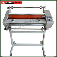 650 hot roll laminator one or two sides large format roll laminator