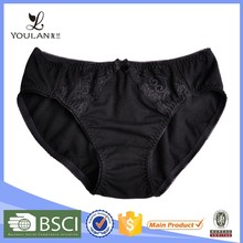 High Quality Latest Fashion Young Women Lace Trim Beautiful Briefs Indian Women Sexy Panty Pictures