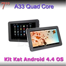 Cheap China Letine Allwinner A33 Quad core 512/4GB Front&Rear camera wifi tablet
