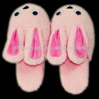 toys for children animal shapped slippers rabbit indoor slipper