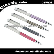 Logo print cristal ball pen for wedding gift