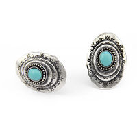 OU2064 ali expres china Fashion Silver Turquoise Ring