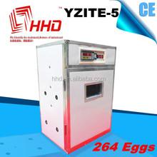 Más nuevo YZITE-5 CE aprobado industrial completamente automático de codorniz agricultura para huevos para incubar