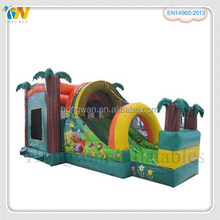 Funny inflatable obstacle course toy for kids inflatable obstacle combo