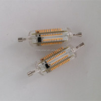 new products r7s 78mm led 15w r7s led 360 degree 5w silicone led bulbs r7s 78mm