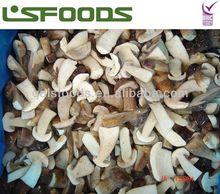 IQF Boletus Edulis half cut frozen mushroom halves