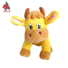cute cow plush stuffed animal, plush stuffed farm animal cow OEM
