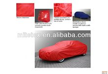 100% POLYESTER 170T 190T taffeta fabric Coated PA+W/R SILIVER CAR COVER