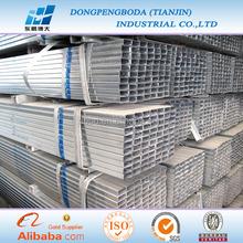 Dpbd BS estándar 35 * 35 mm pre galvanizado rectangular sección