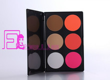fashion style 6 color contour powder palette