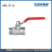OEM manufacturer Butterfly/lever handle ball valve forged