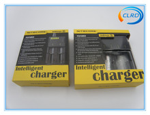 Original 18650 18350 Ecigarette Battery Charger Nitecore Intellicharge I4 i2 Charger With High Quality