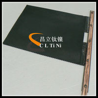 mmo coated titanium anode for electrolytic coppers