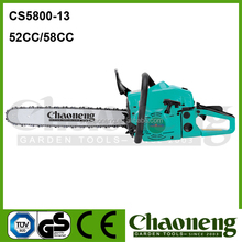 Chaoneng 5800 2014 new chain saw, 52cc engine, wooden dealing machine