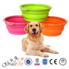 [Grace Pet] Pet Expandable Collapsible Silicone Food & Water Travel Bowl