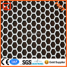 hexagonal perforated aluminum metal sheet/punching hole meshes/stainless steel punching perforated mesh