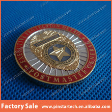Wholesale Old Gold Challenge Star Stamping Souvenir Metal Coin Cheap Price with Custom Logo
