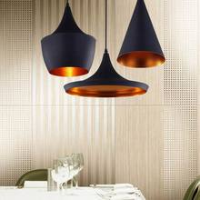 Contemporary tom dixon pendant lamp lights