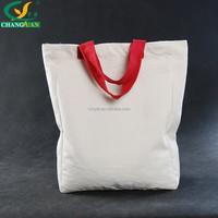 eco friendly cotton canvas carrier tote bag