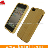 Bamboo Wooden cell phone cover for iphone