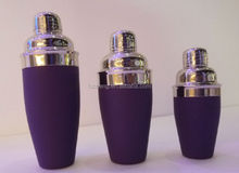 stainless steel cocktail shaker bar accessories