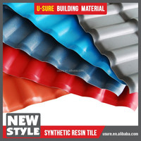 corrosion resistance plastic tile corrugated sheets for roofing price