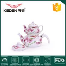 porcelain tea pot and enamel kettle pot, Arabic tea pot