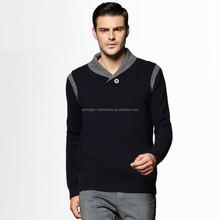 Le tricot de laine hombre suéter de cachemira