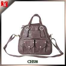 2015 fashion cow leather tote bags for women young people bags