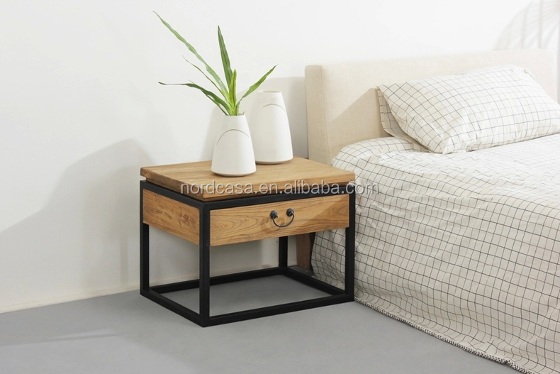 table chevet fer forge table de chevet en fer. Black Bedroom Furniture Sets. Home Design Ideas