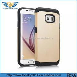 Korea mobile phone case For Samsung Galaxy S6 S5 S4 S3 tough slim armor hybrid case TPU