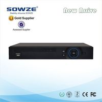 Digital video recorder network h264 64 channel 4 channel usb support win7 DVR