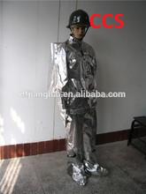 La fábrica produce ccs solas aprobado bombero ropa, traje de bombero, ropa de extinción de incendios