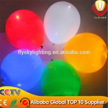 nuevo estilo led parpadeante globo luces directa de la fábrica de la muestra libre de led globo para promoción nuevo produc
