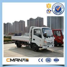 T-king brand 4x2 2 ton single cabin mini cargo van truck