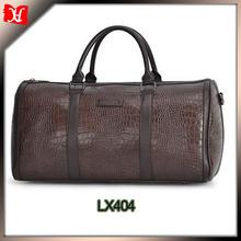 wholesale custom brown man duffle bag buffalo leather big travel tote bags